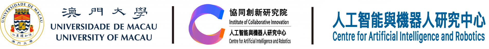 University of Macau | Centre for Artificial Intelligence and Robotics Logo